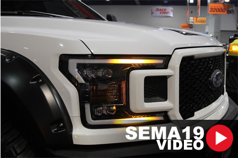 SEMA 2019: AlphaRex F-150 NOVA Headlights Offer Style, Functionality