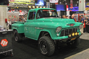 SEMA 2019: Baja Designs Gives This '55 Chevy Truck A Dazzling Look