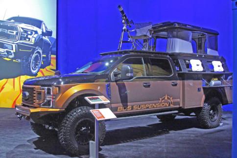 "SEMA 2019: BDS's 2020 Ford F-350 ""Go Beyond"" Build"
