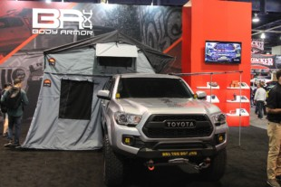 SEMA 2019: Body Armor 4x4 Overland Tacoma And Tent