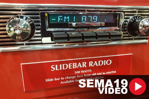 SEMA 2019: Custom Autosound Manufacturing New Slidebar Radio