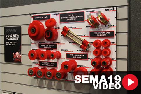 SEMA 2019: Energy Suspension Poly Bushings And Chevy Trucks