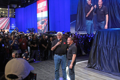 SEMA 2019: Ford, Jay Leno Reveal Mystery 4x4 Build