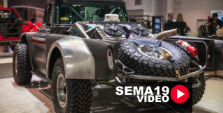 SEMA 2019: Jesse James Goes Off-Road For Line-X With 57 Chevy Cameo