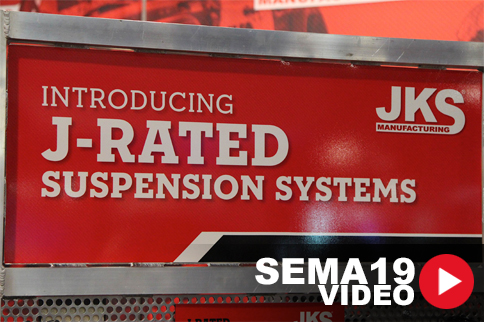 SEMA 2019: JKS Manufacturing Talks J-Rated Suspension Systems