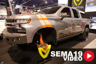 SEMA 2019: MaxTrac Suspension Showcasing Late-Model GM 2WD Lift Kits