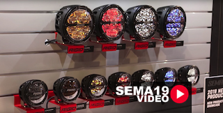SEMA 2019: Rigid Industries Round Lights With The 360-Series