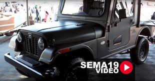 SEMA 2019: Roxor Offroad's Roxbox Is Unique Utilitarian And Offroad