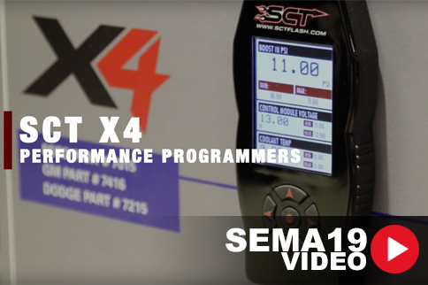 SEMA 2019: SCT's Plug-And-Play Programmer Puts Down Power And Torque