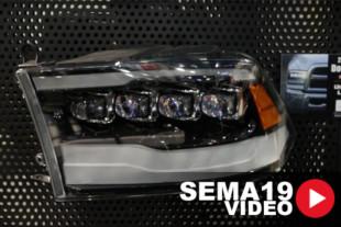 SEMA 2019: The Alpha Rex NOVA Series Headlights For Ford And Dodge