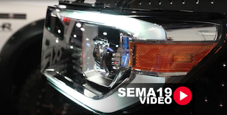 SEMA 2019: The Pro Series Nova Lights From Alpha Rex Provide Options
