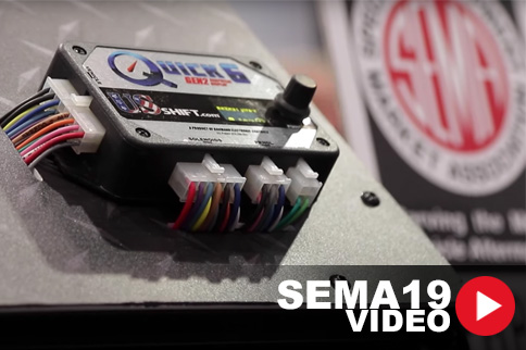 SEMA 2019: US Shift Releases Display on Transmission Control Units