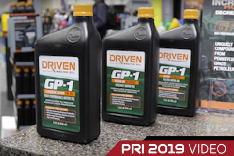 PRI 2019: Driven Racing Oil Talks About Pennsylvania Grade Oils