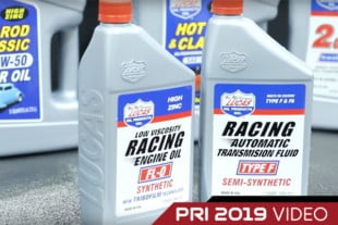 PRI 2019: Lucas Oil Adds New engine Oil An Transmission Fluid