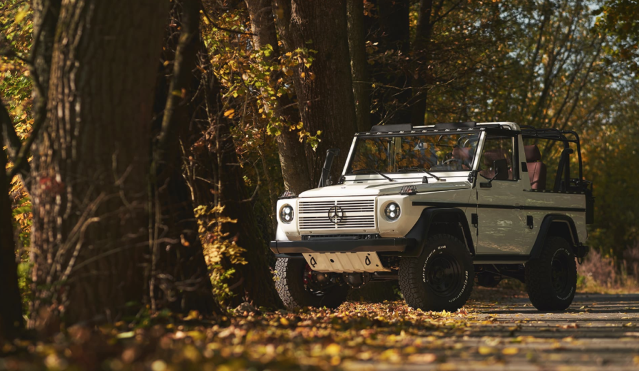 The White Wolf: Ex-Military Mercedes-Benz G-Wagen For Sale