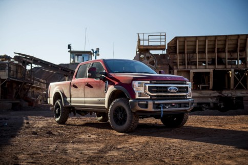2020 Ford Super Duty's Tremor Package Available With 12,000-LB Winch