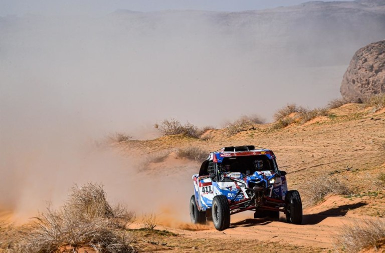 Dakar 2020: Stage 5 Difficulties Strike The SSV Field