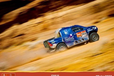 Fastball Racing Swings, Misses, And Crashes Big At 2020 Dakar Rally