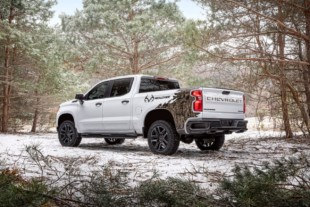 New Chevrolet Silverado Realtree Edition Is A Camouflaged Trail Boss