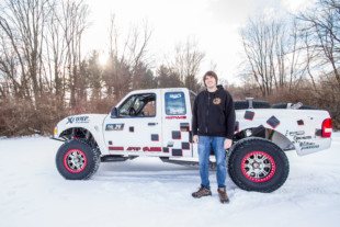 Midwest King Of The Dunes: Tyson Ahrens' Long Travel Ford Ranger