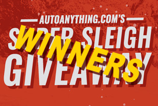 Jackpot: Auto Anything's Super Sleigh Giveaway Winners Are Announced
