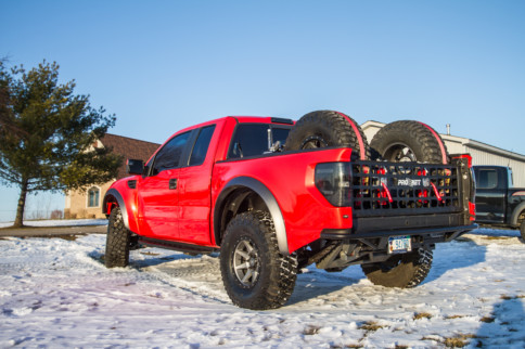 Make Mine Red: KP Motorsports Elevates The First-Gen Ford Raptor