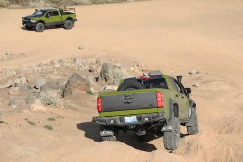 Getting Dirty With AEV's Colorado ZR2 Bison And Prospector XL