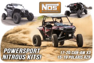Holley Introduces NOS Nitrous Kits For Popular Side-By-Side Models