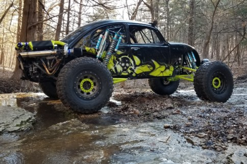 Thug Bug: Trent Matheis' Dream Off-Roader Made Of History