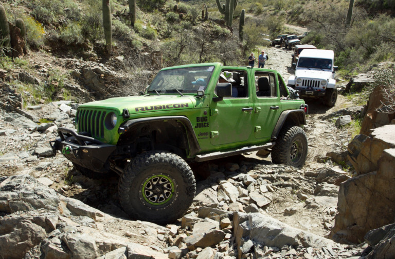 Jeep Jamboree: An Adventure in the Arizona Desert