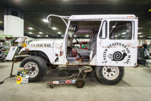 Taking A Gamble At The 2020 Detroit Autorama With A 1976 Jeep DJ