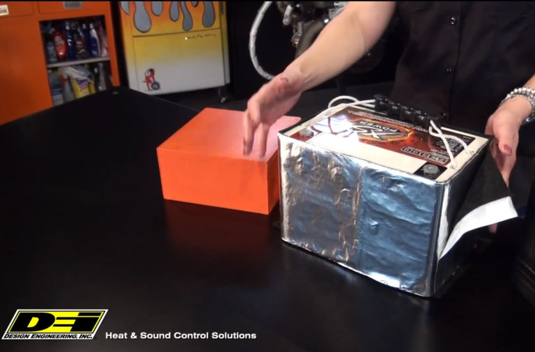 Protect Your Battery With The DEI Cell Saver Battery Heat Shield
