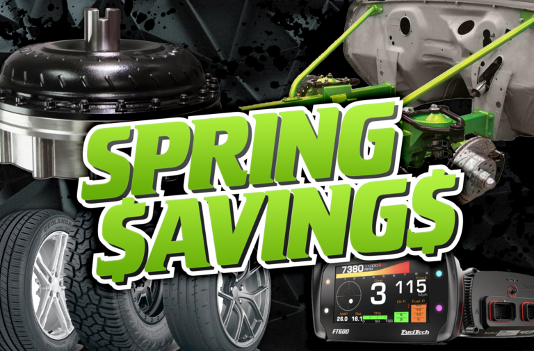 Spring Savings - Great Deals On Tons Of Parts!