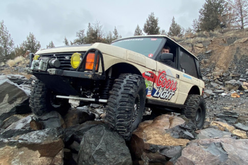Mini-Feature: Quinton Bartolotta's 1989 Range Rover