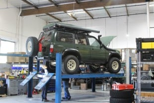 Energy Suspension Final Fit Check On Neil Tjin's Land Cruiser