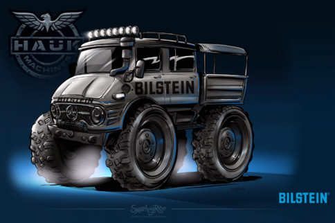 Workhorse Wonder: Hauk Designs Building Unimog For Bilstein