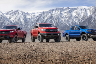 Ford Announces Three Levels of Ranger Customization
