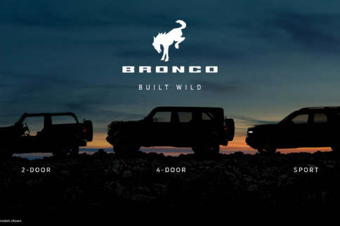 """Video: New Ford Bronco is """"Built Wild"""" and Offers Exciting Extras"""