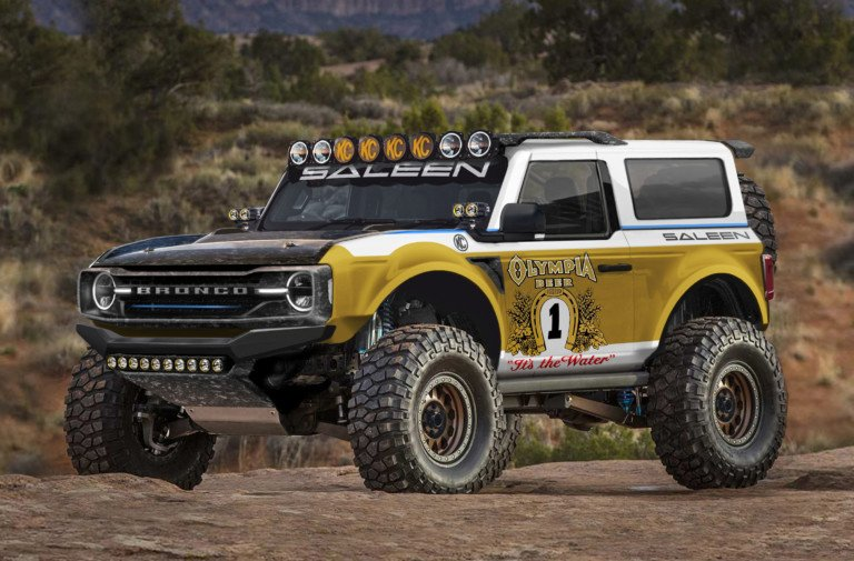 "The Legend Lives On: Saleen Announces ""Big Oly"" Ford Bronco"