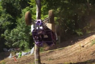 Video: Rock Bouncer UTVs Flip, Roll, and Crash