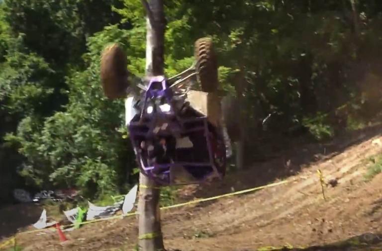 Video: Rock Bouncer UTVs Flip, Roll, and Crash