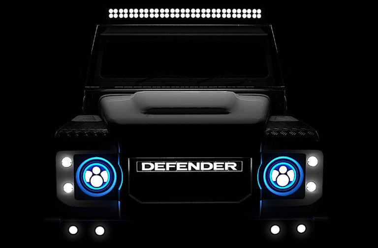Electric Classic: Tesla-Powered Land Rover Defender