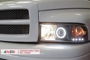 Video: AnzoUSA 1994-2002 Dodge Ram Truck Projector Headlight Install