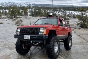 Adam Dahdough's Rubicon Trail Tested Jeep Cherokee