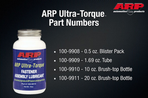 2020 Product Showcase: ARP's Ultra-Torque Assembly Lube