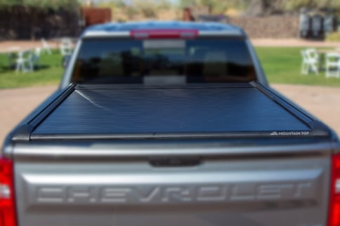 Built Strong: Two Adults Can Stand On The Mountain Top Tonneau Cover