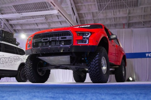 Righteous Red: Steve Lewis' Bronco Prerunner