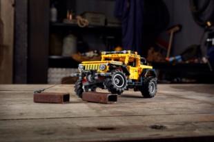 Lego Debuts Technic Jeep Wrangler Rubicon