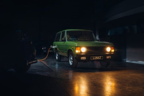Lunaz Rolls Out Classic Range Rovers Converted To Electric Motors