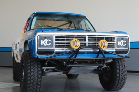 Walker Evans' Baja 1000 Winning 1978 Dodge Ram Pickup
